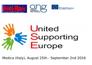 USE – United Supporting Europe – Progetto di Scambio Giovani a MODICA, 25 Agosto – 2 Settembre 2016