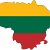 lithuania_flag_map