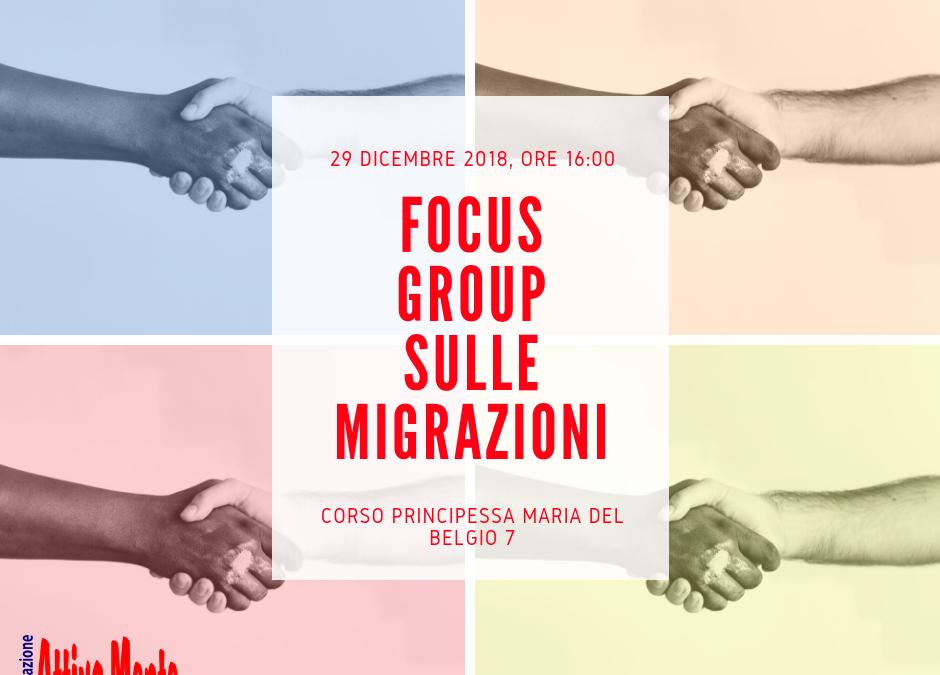 Focus Group sulle migrazioni