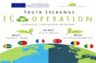 Scambio giovani in SVEZIA – ECOoperation (11.09.2019 – 19.09.2019)