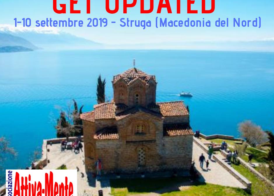 Get Updated, progetto sulla gestione del conflitto. Struga, Macedonia del Nord – 1/9/2019 – 10/09/2019