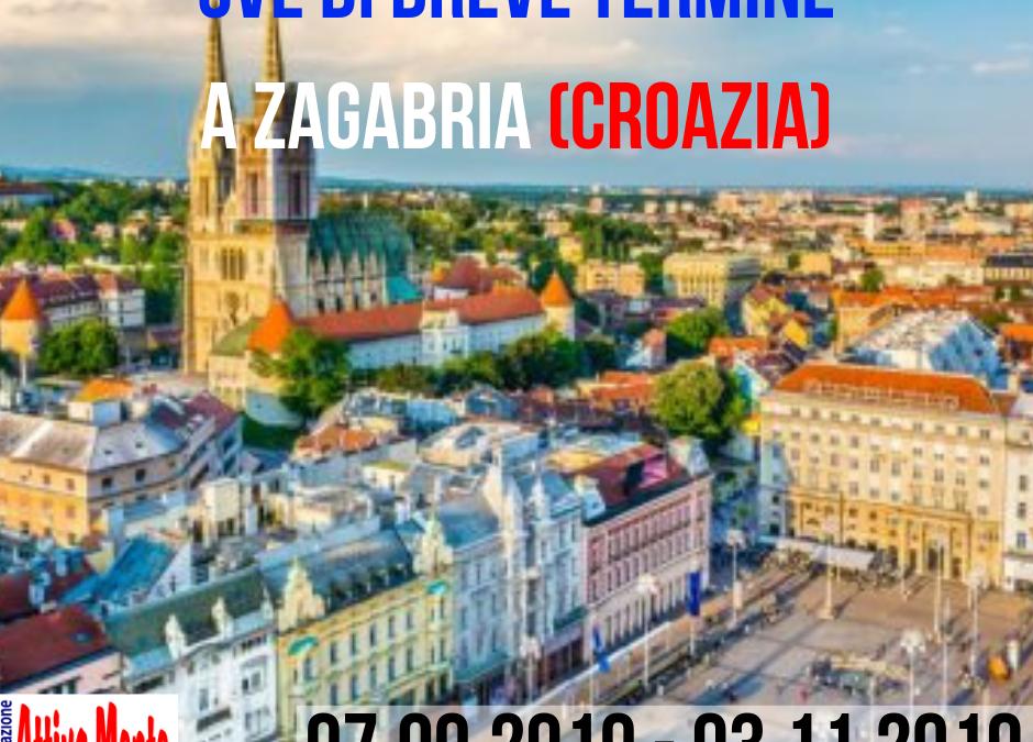 VolunTeen – Servizio Volontario Europeo di breve durata a Zagabria (Croazia). 7.09.2019 – 3.11.2019