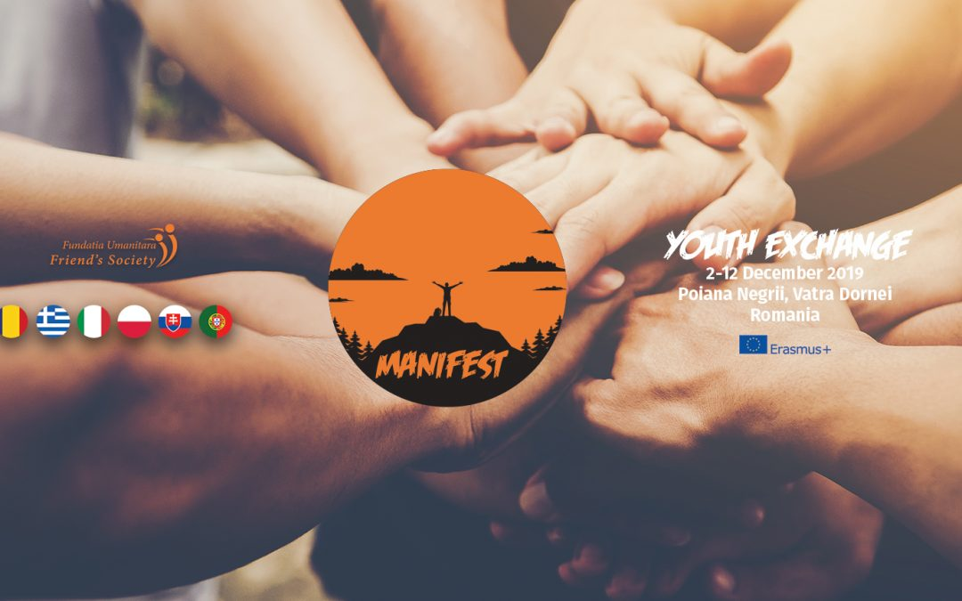 Manifest – scambio di giovani sul tema della tolleranza (Poiana Negri, Romania, 2-12 dicembre 2019)