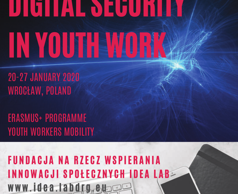 DIGITAL SECURITY IN YOUTH WORK – Wroclaw, Polonia (20-27 gennaio 2020)