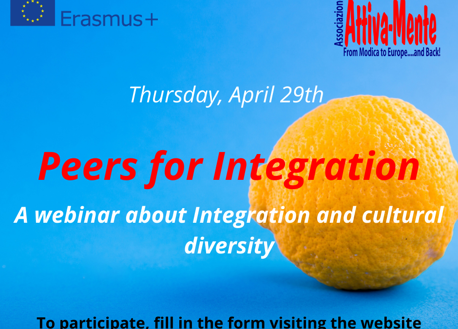 "Webinar on the topic of Integration ""Peers 4 Integration"""