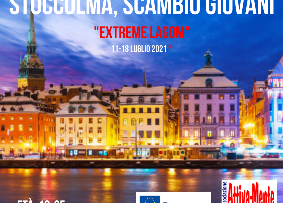 Extreme Lagom – Stoccolma (Svezia) 11.07.2021 – 18.07.2021