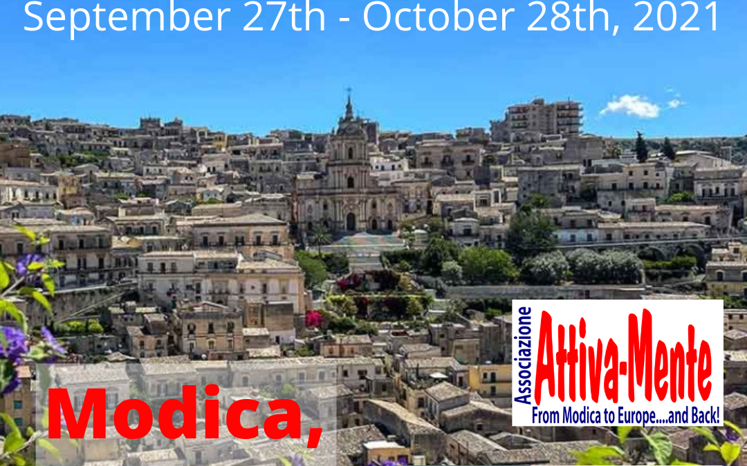 Let's do it Together Italy – ESC project in Modica – September 27th – October 28th