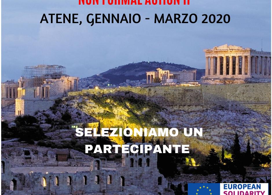 Progetto di volontariato ESC di 3 mesi ad ATENE (Grecia). Gennaio-Marzo 2020
